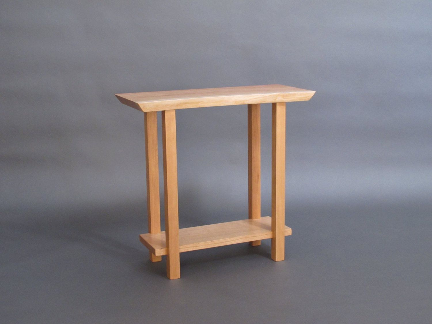Best Live Edge Narrow Side Table Small Occasional Table Live 400 x 300