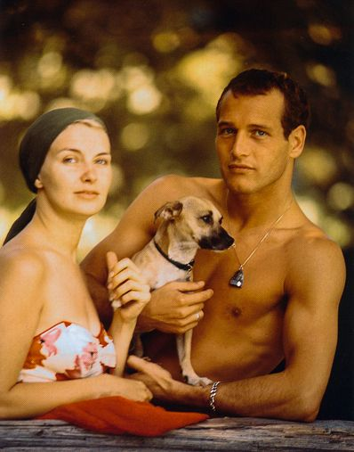 Paul Newman & Joann Woodward