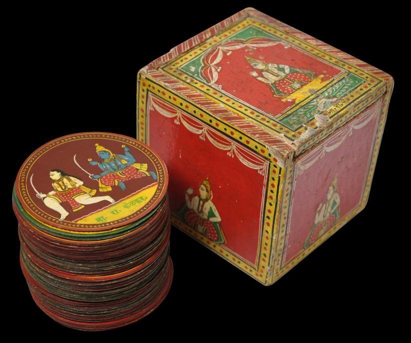 Ganjifa indian playing cards indian traditional