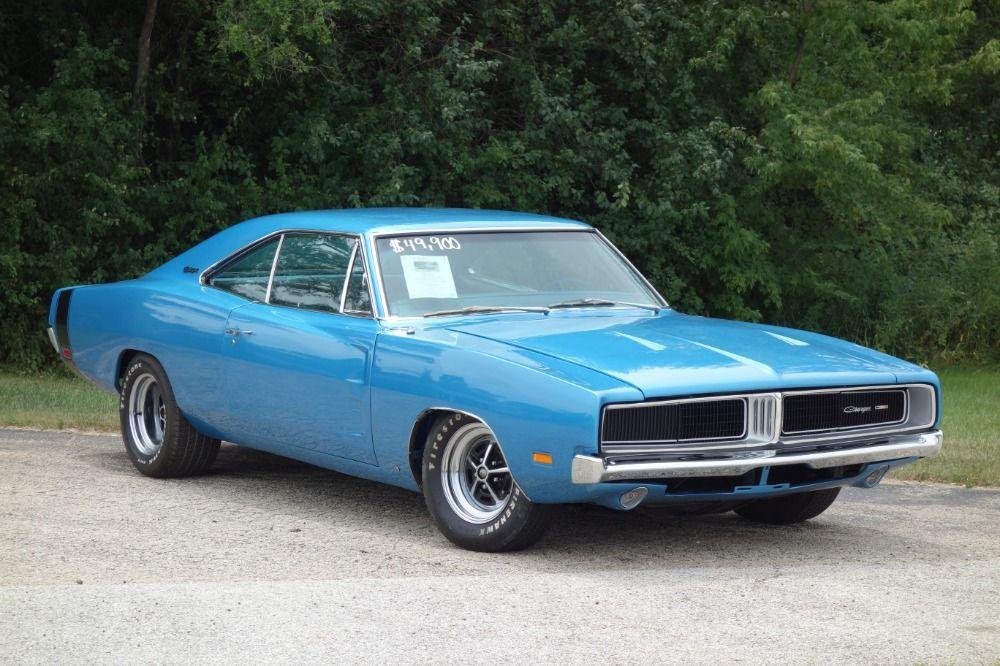 Used 1969 Dodge Charger Frame Up Restored 440 Big Block Easy