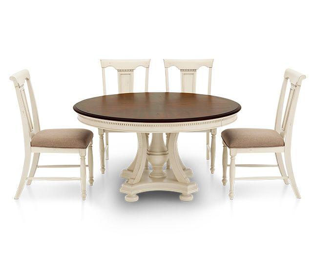 Bridgeport 5 Pc Round Dining Group Furniture Row
