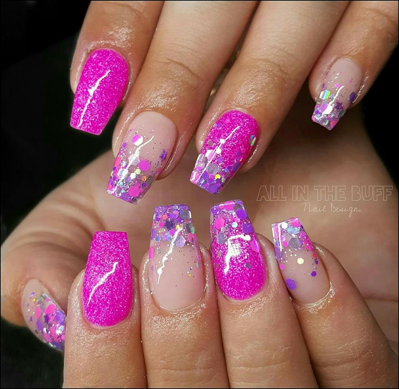 Pin by Julie Redmond on Glitter nails | Pinterest | Sexy nails ...