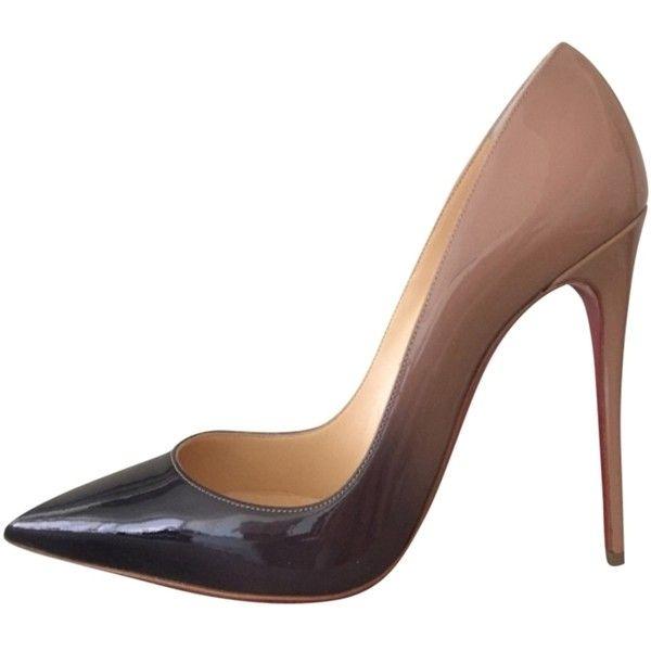 Pre-owned - Beige Heels So Kate Christian Louboutin qCEfA
