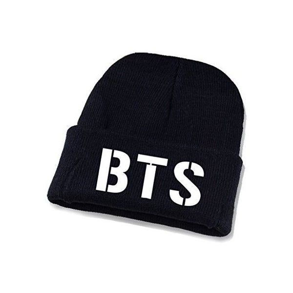 3e3559bd9 Kpop BTS Beanie BTS Bangtan Knitted Hat ❤ liked on Polyvore ...