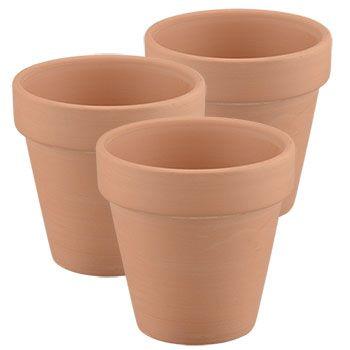 Bulk Mini Terra Cotta Clay Pots 3 Ct Packs At Dollartree Com Terra Cotta Clay Pots Clay Pot Lighthouse Clay Pots