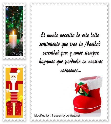 Mensajes para enviar en navidad poemas para enviar en - Videos de navidad para enviar ...