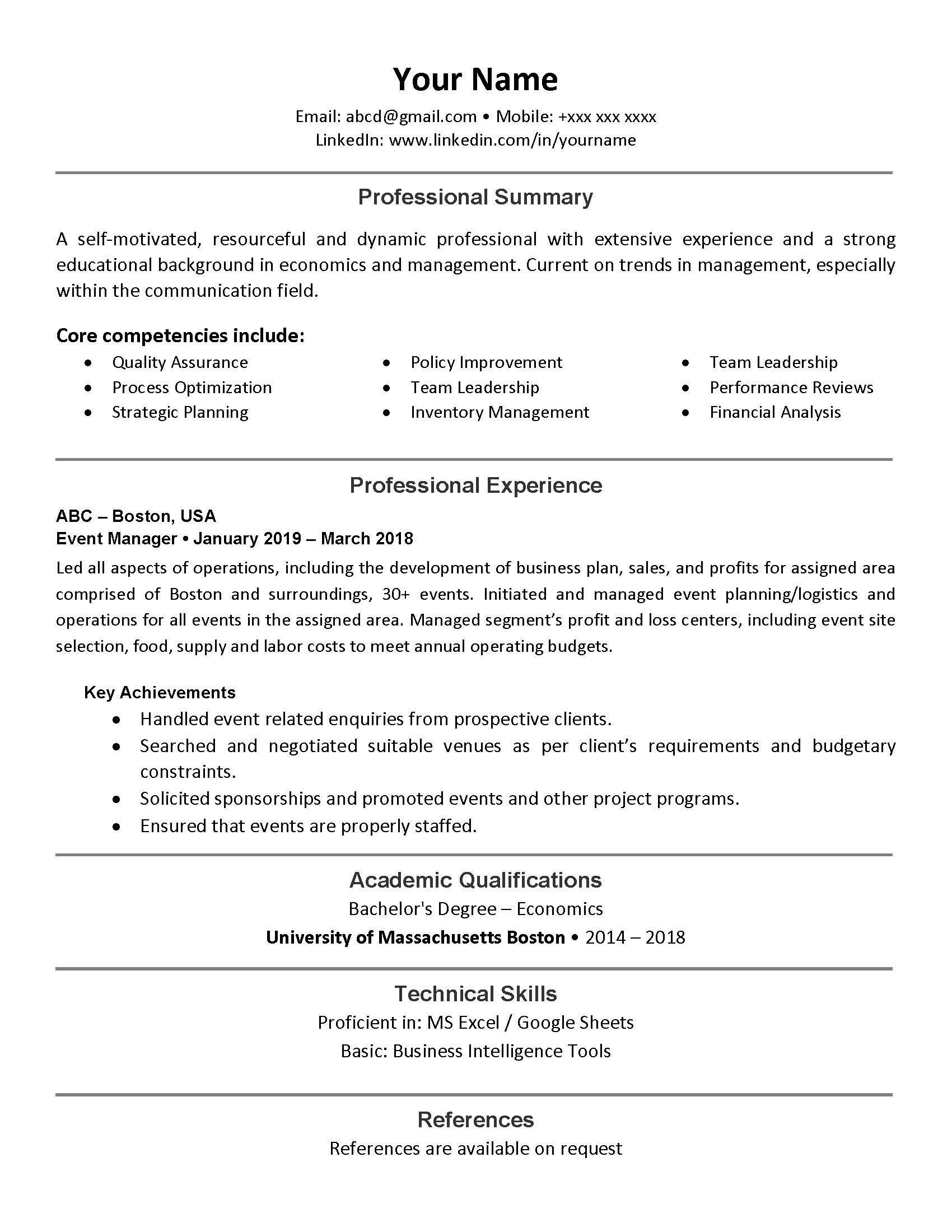 Build Or Modify Resume Cv Cover Letter And Linkedin By Karar45