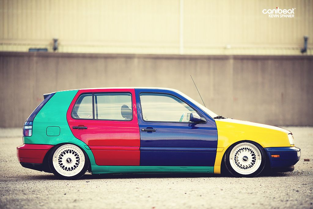 VW#Golf#mk3#harlequin | Kit inspiration | Pinterest | Golf ...