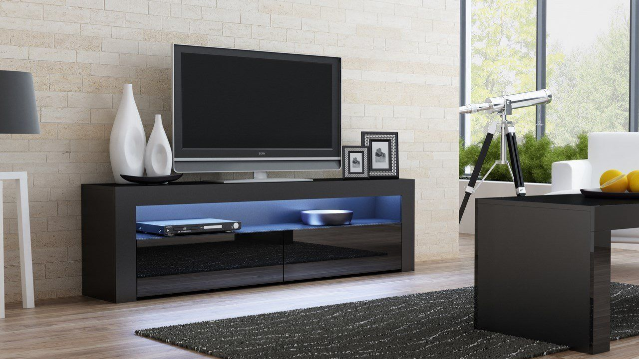 Flat Tv Stand Designs : Living room designs ideas with tv console milano classic