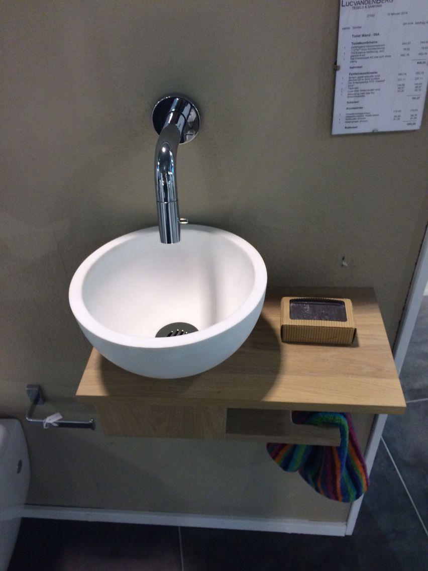 Waskom badkamer pinterest badkamer wc en toiletten for Moderne badkamer deco ideeen