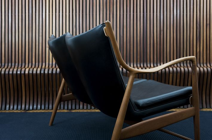 Finn Juhl NV-45 two-seater bench - I've never seen one of these...lust