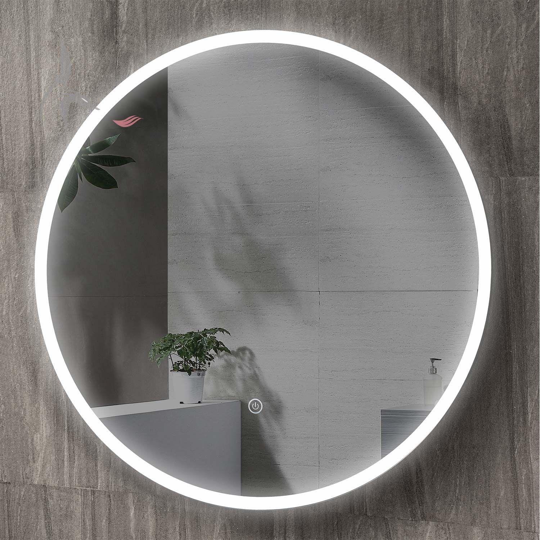 Billig Runder Spiegel Mit Licht Mit Bildern Spiegel Mit Licht Runde Spiegel Spiegel
