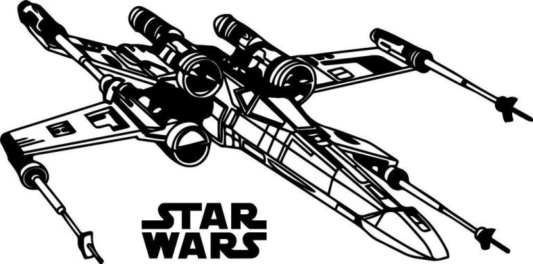 Resistance X Wing Fighter Star Wars Coloring Page X Wing Fighter
