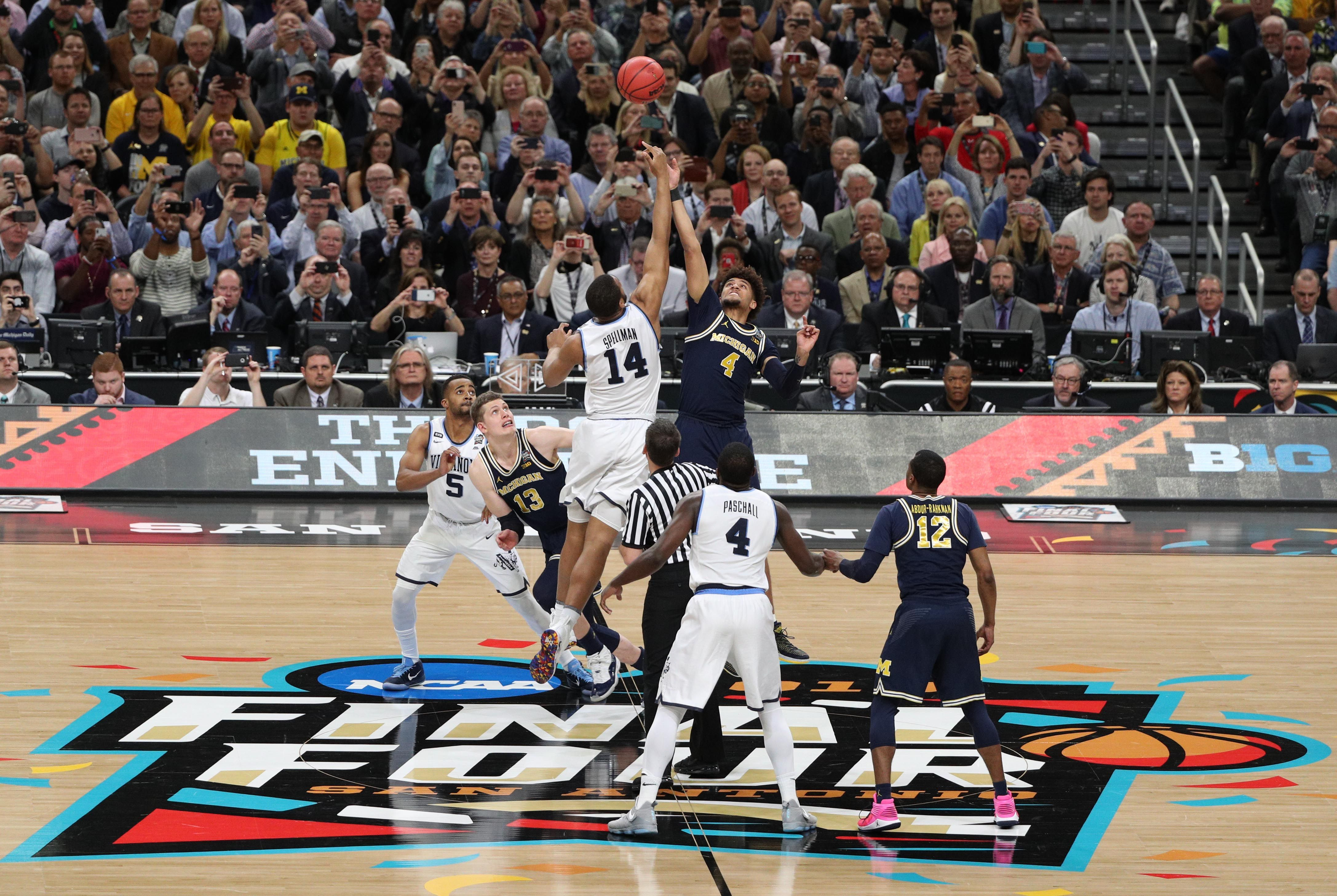 College basketball game times, TV schedule