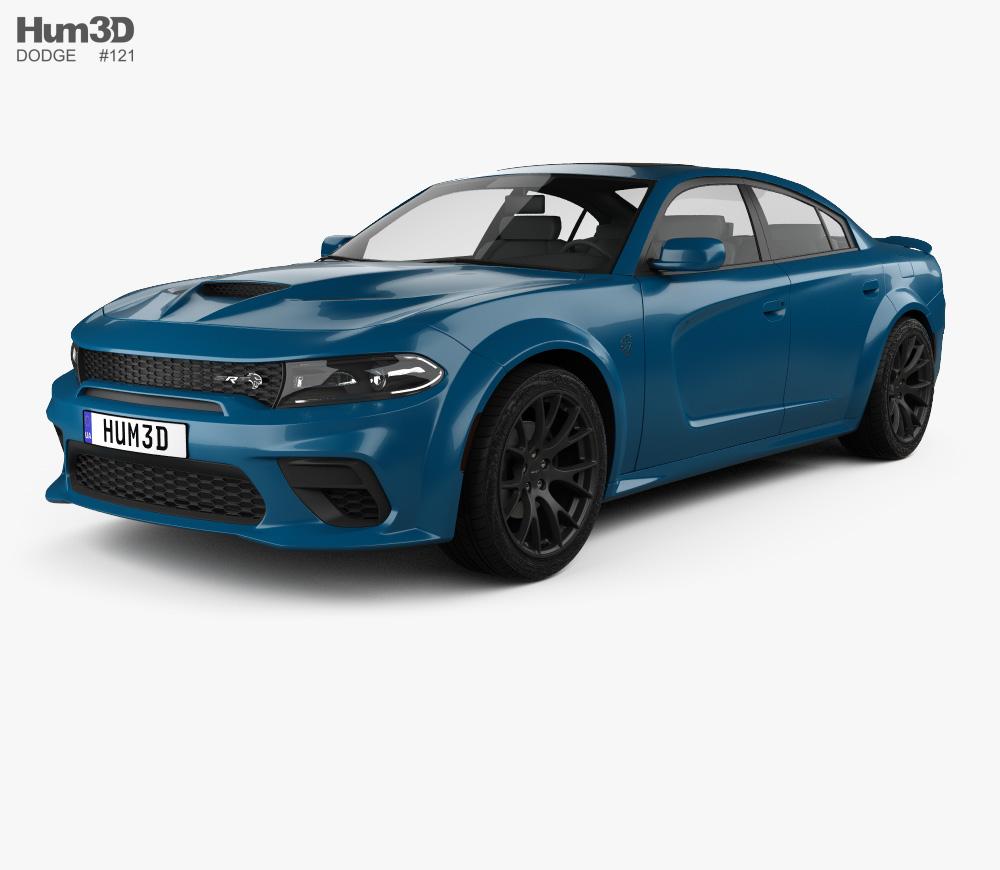 3d Model Of Dodge Charger Srt Hellcat Wide Body 2020 Charger Srt Hellcat Dodge Charger Srt Srt Hellcat