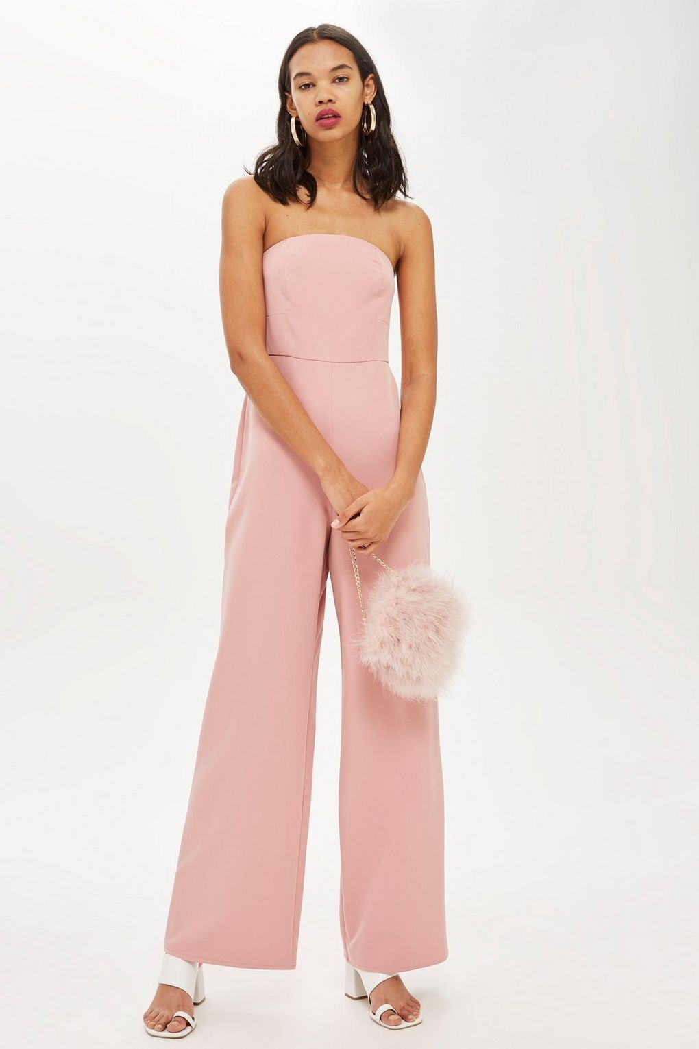 ae08fea2603 Wide Leg Bandeau Jumpsuit - New In Fashion - New In - Topshop