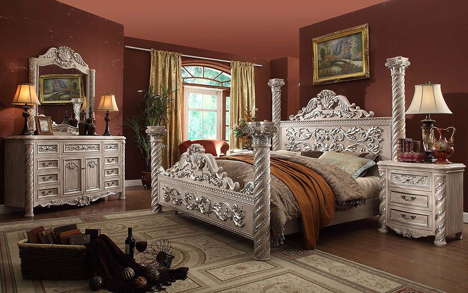 Victorian Bedroom Sets..this is beautiful but I would want dark wood ...