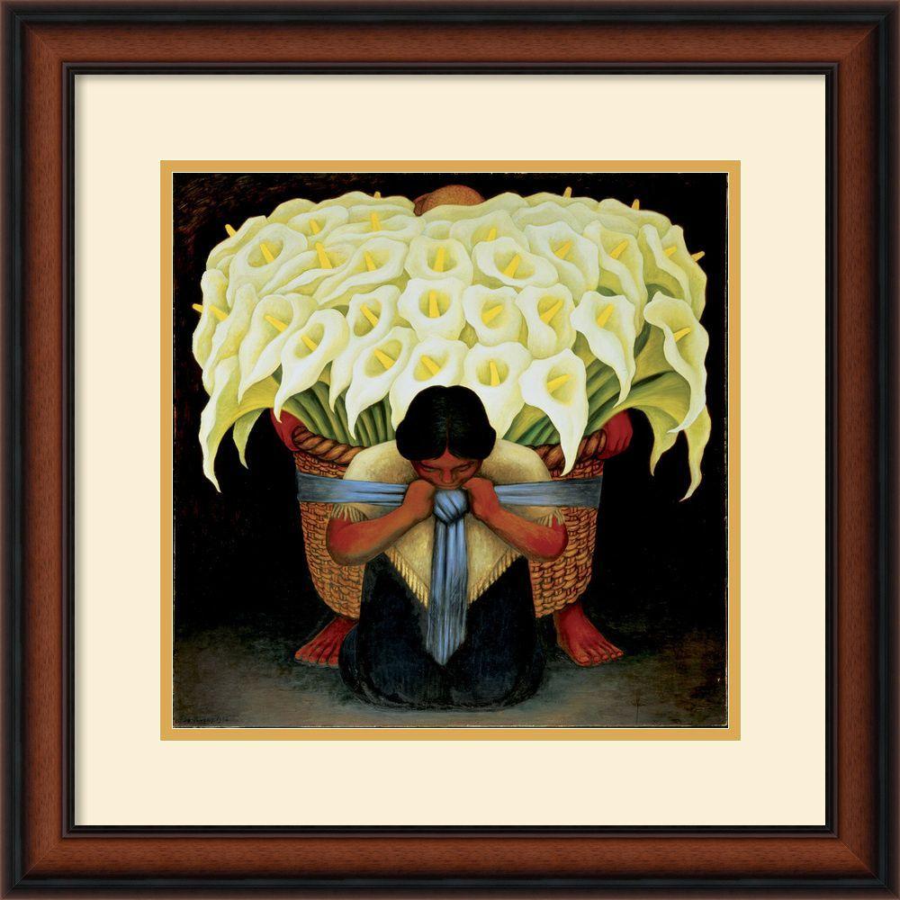 Diego Rivera \'El Vendedor de Alcatraces\' Framed Art Print | Products ...