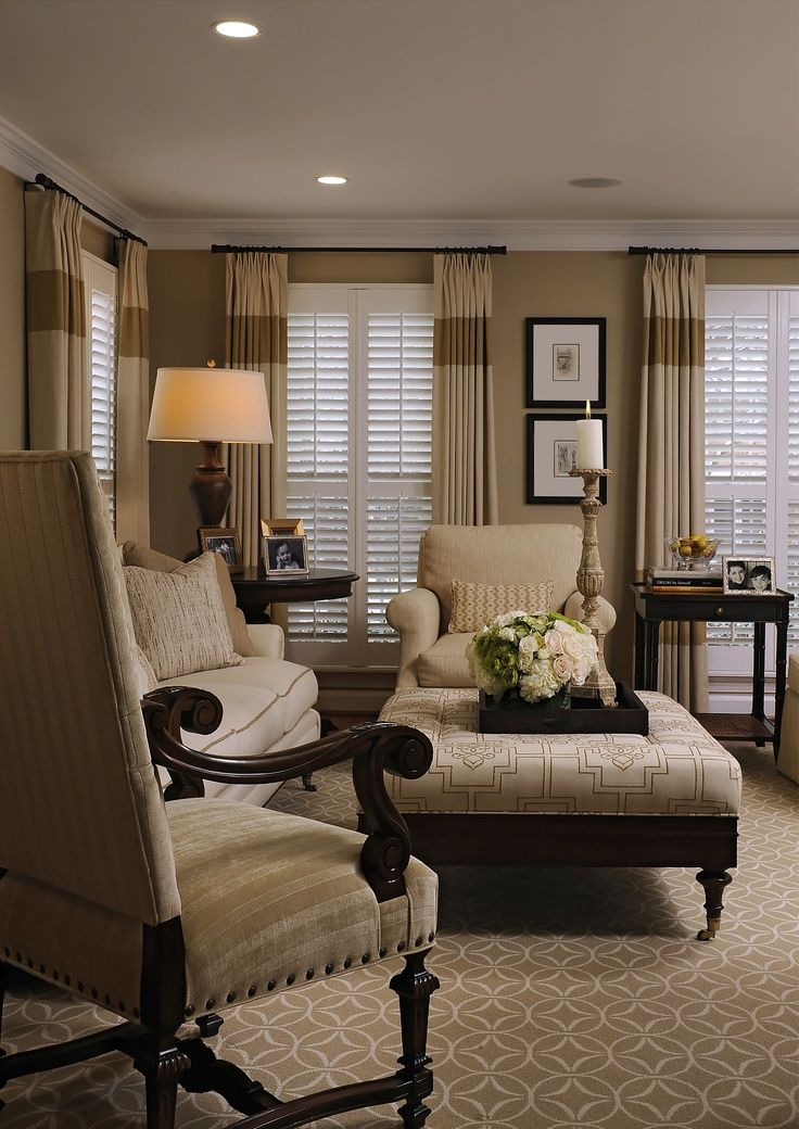 Beautiful Neutral living room Dekorasyon Pinterest Cortinas - cortinas decoracion