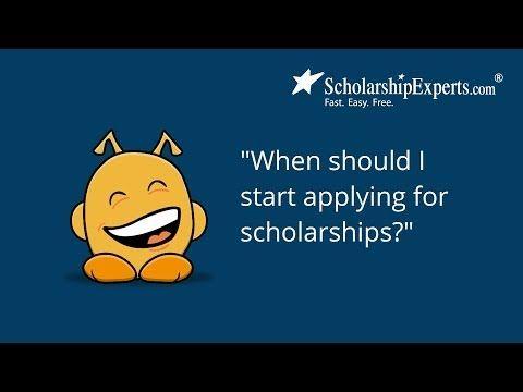 When do I start applying for college?