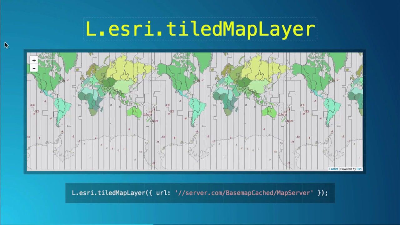 Building Apps with Leaflet and the Esri Leaflet Project | Geospatial
