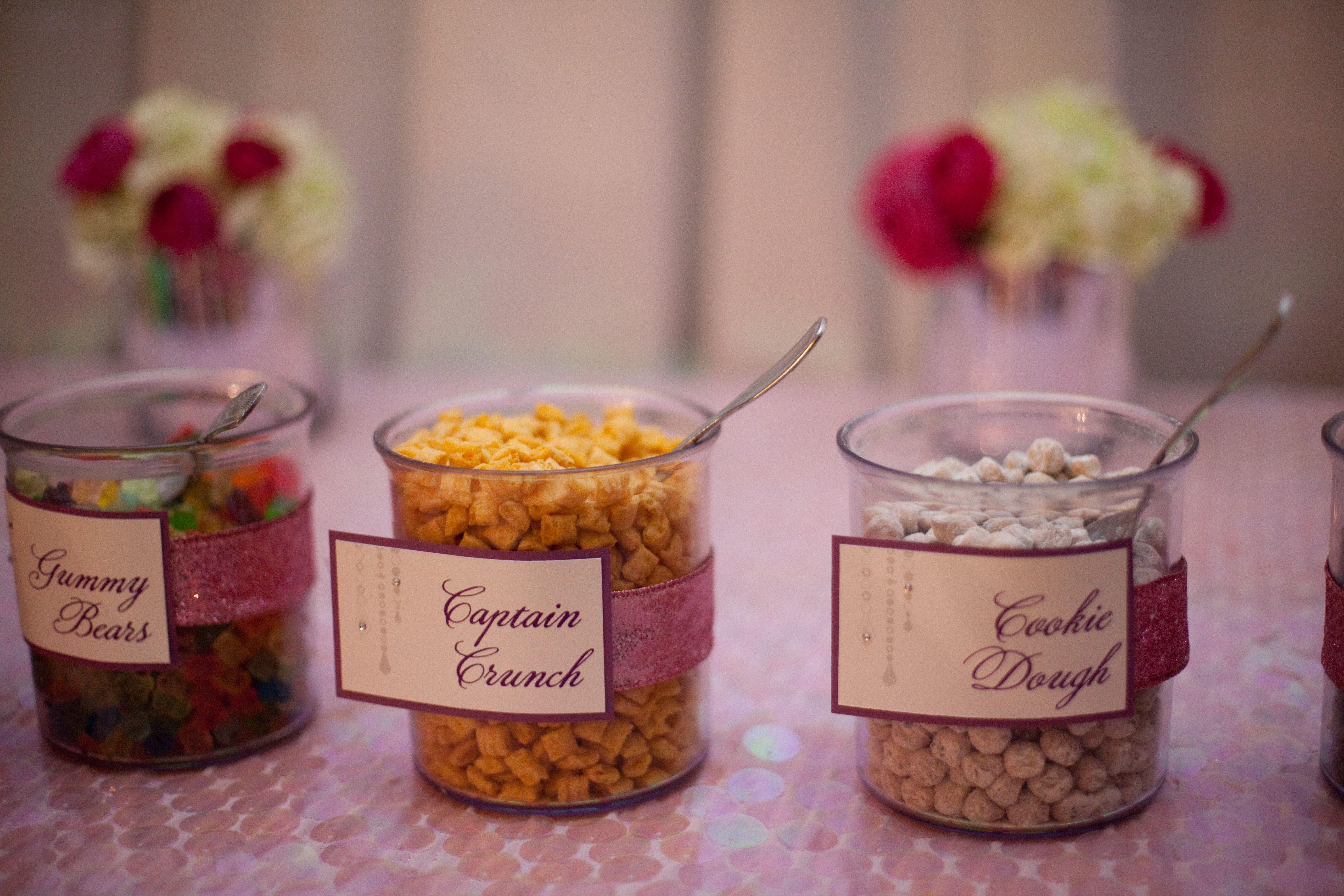 food cards designed by idieh design wedding day