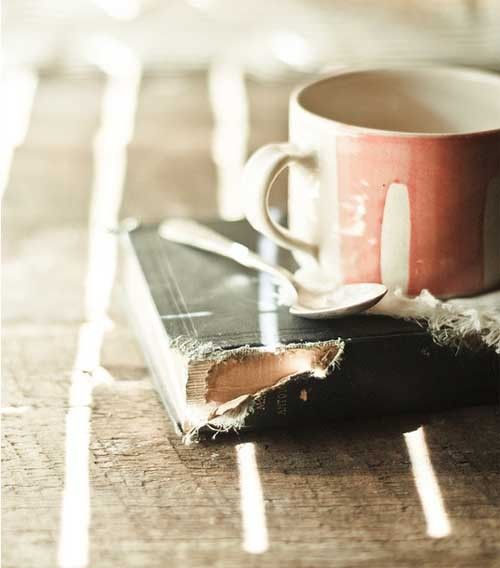 I am perfectly content with a good book and a cup of ...