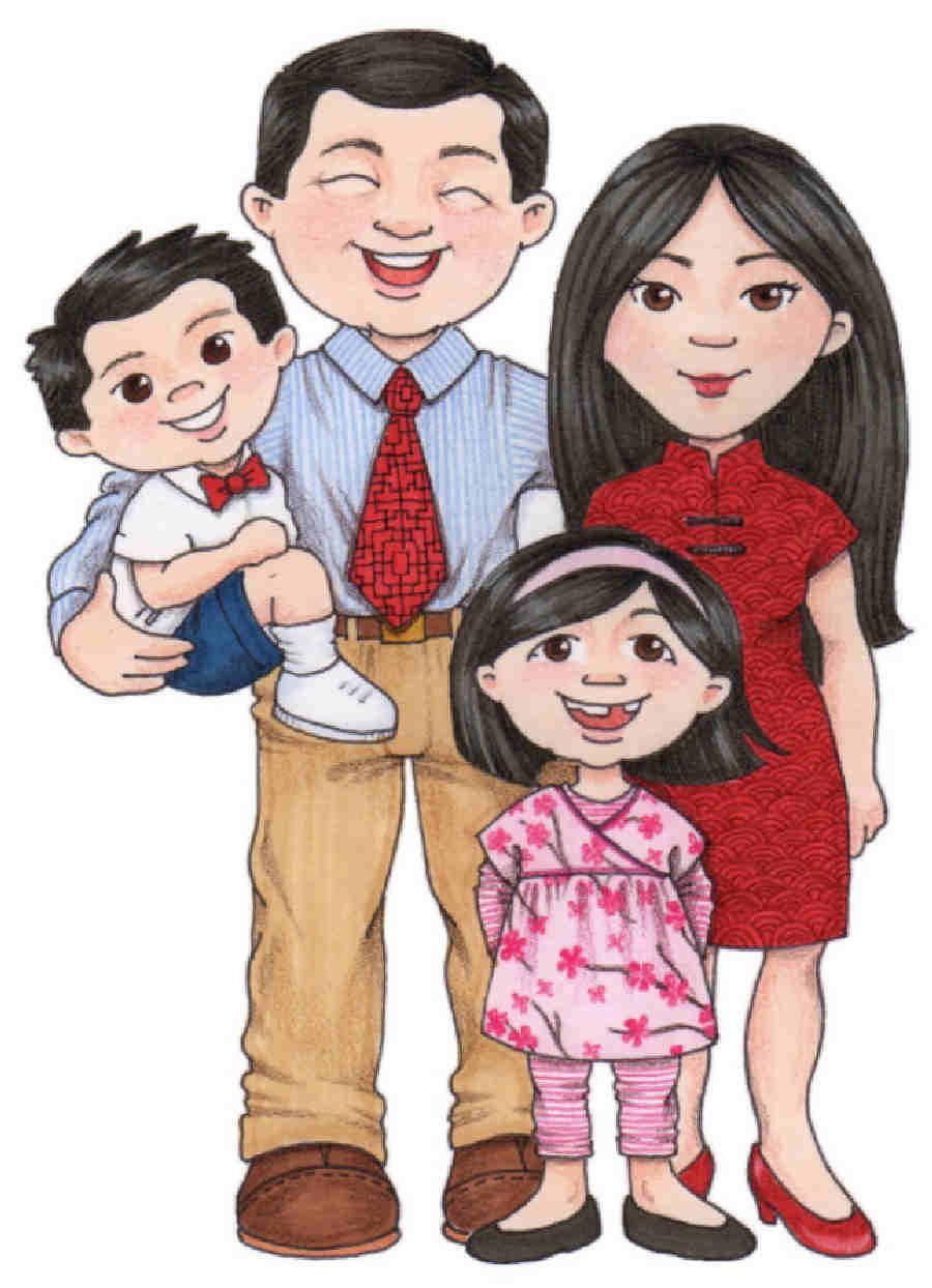 dibujos familia ilustraciones infantiles susan fitch y otro rh pinterest co uk clipart images of families free clipart of families