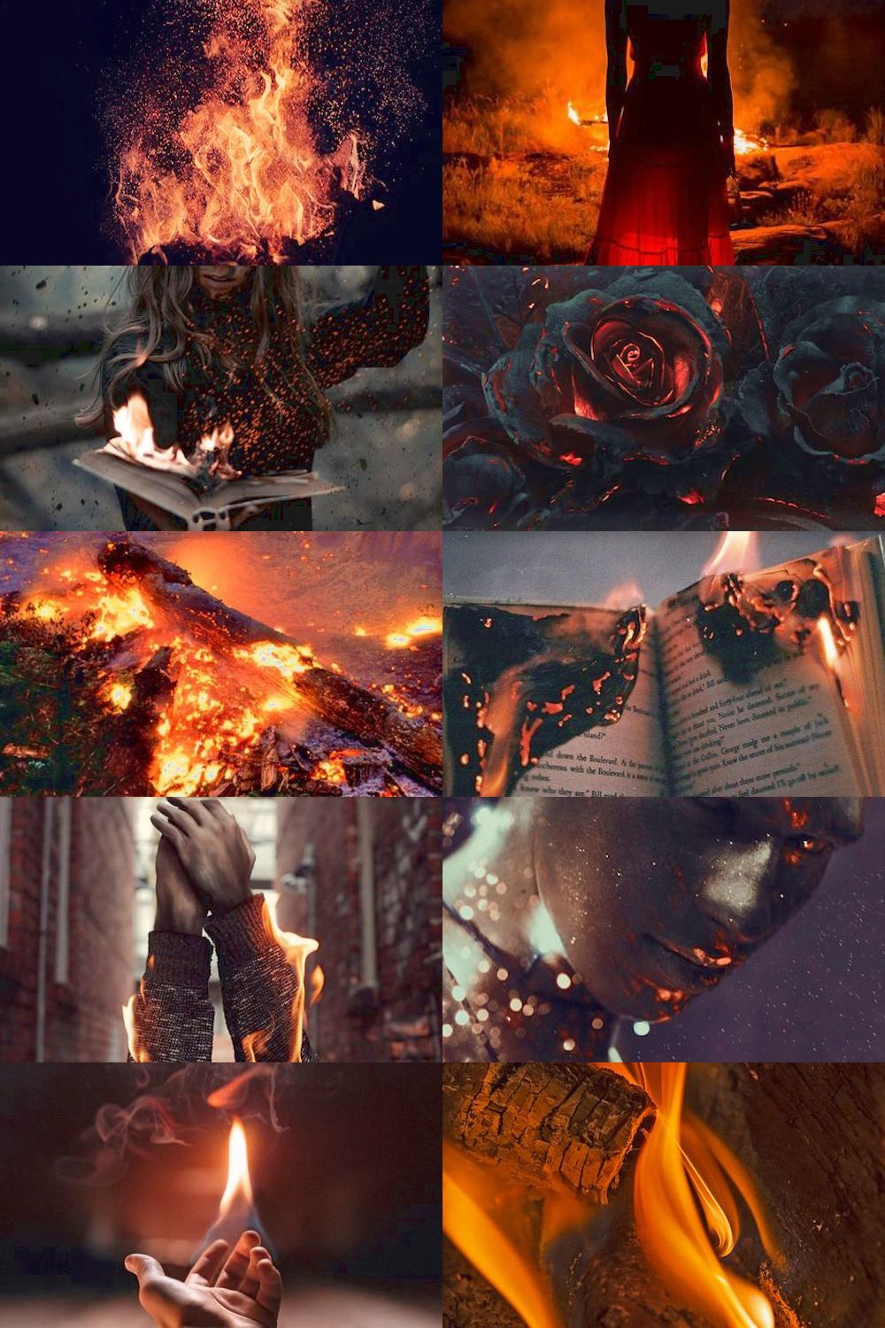Ichor Veins Element Aesthetic Fire