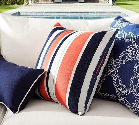 Pin By Be6 Designs On Decking In 2021 Outdoor Pillows Indoor Outdoor Pillows Outdoor Pillows Navy