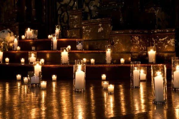 Decorazioni matrimonio con candele decoration candle