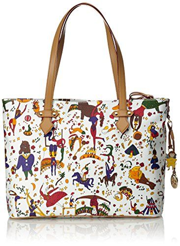 3c766fec96 Piero Guidi Magic Circus Borsa a Tracolla, 34 cm, Bianco #borse ...