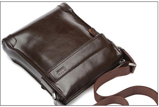 ccf38cfa5894 Men s leather sling bag Colours   black