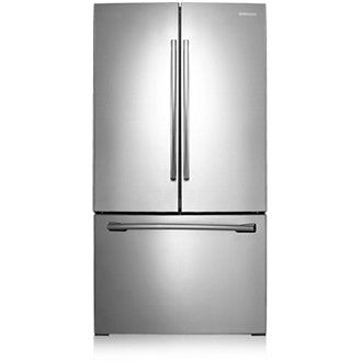 Rf261beaesr French Door Refrigerator With Twin Cooling Plus 25 6 Cu Ft Stainless Steel Refrigerator French Doors French Door Refrigerator