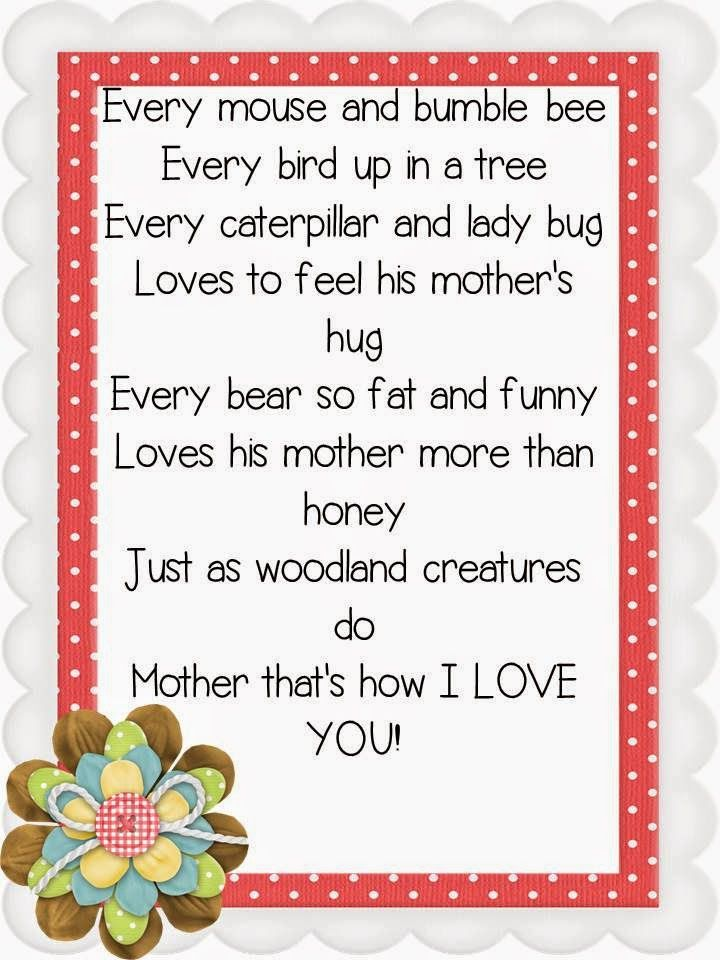 Pin by Courtney Thompson on Gift Ideas Mothers day poems