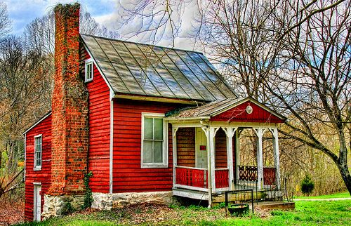 Little Country House Old Country Houses Red Cottage Little