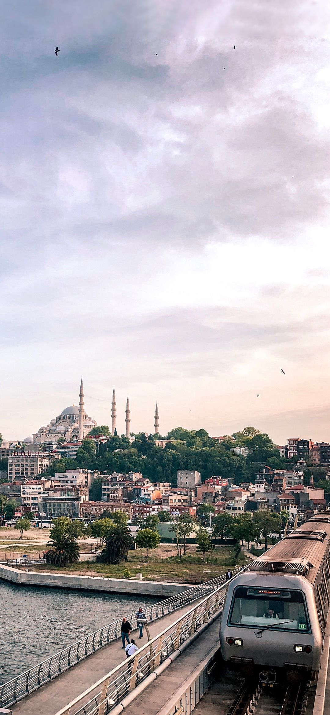 Suleymaniye Mosque In Istanbul City Wallpaper And Other Beautiful High Quality Hd Islamic Wallpapers On Islamwa In 2020 City Wallpaper Istanbul City Islamic Wallpaper
