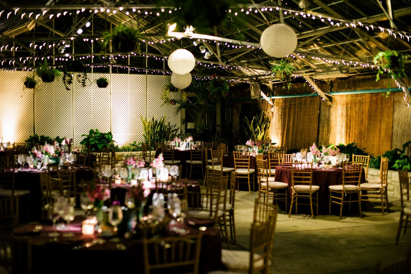 Outdoor Park Or Indoor Room For Wedding Ceremony: Fairmount Park Horticulture Center