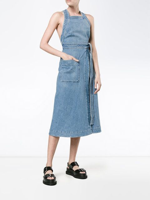 91abc7bb75 Stella McCartney denim wrap dress