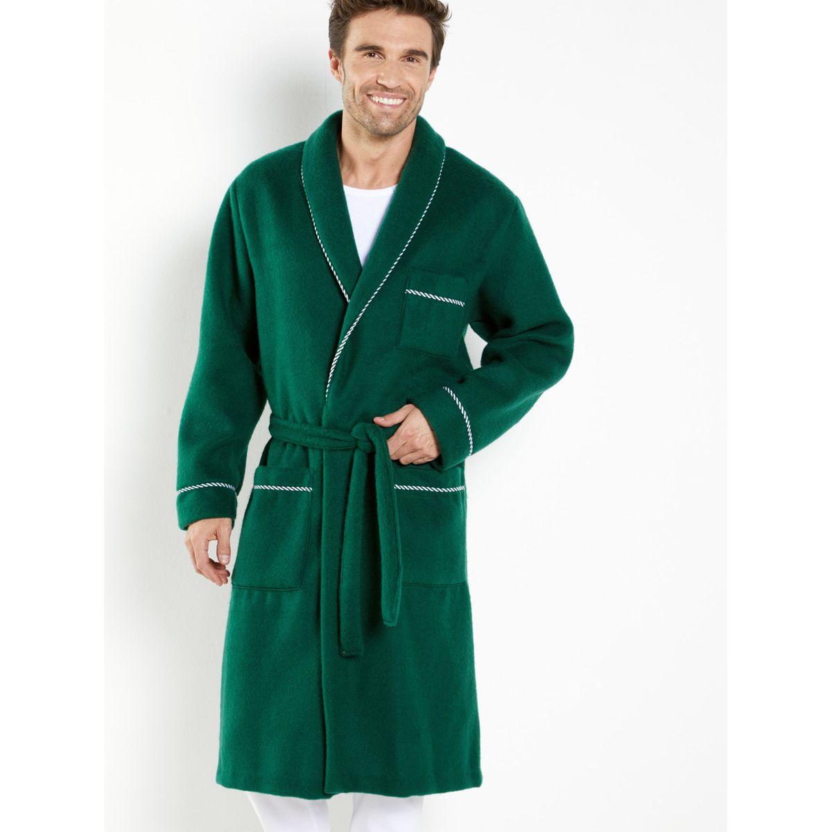 Robe De Chambre Maille Courtelle Taille L M Xl 2xl Robe De Chambre Homme Robe De Chambre Robe