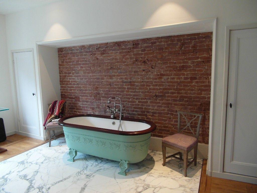 Marmer Tegels Badkamer : Marmer tegels badkamer bad op pootjes made by de badkamerman