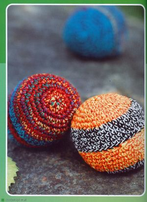 Crochet Kid Stuff Hacky Sacks Knittingcrocheting Patterns