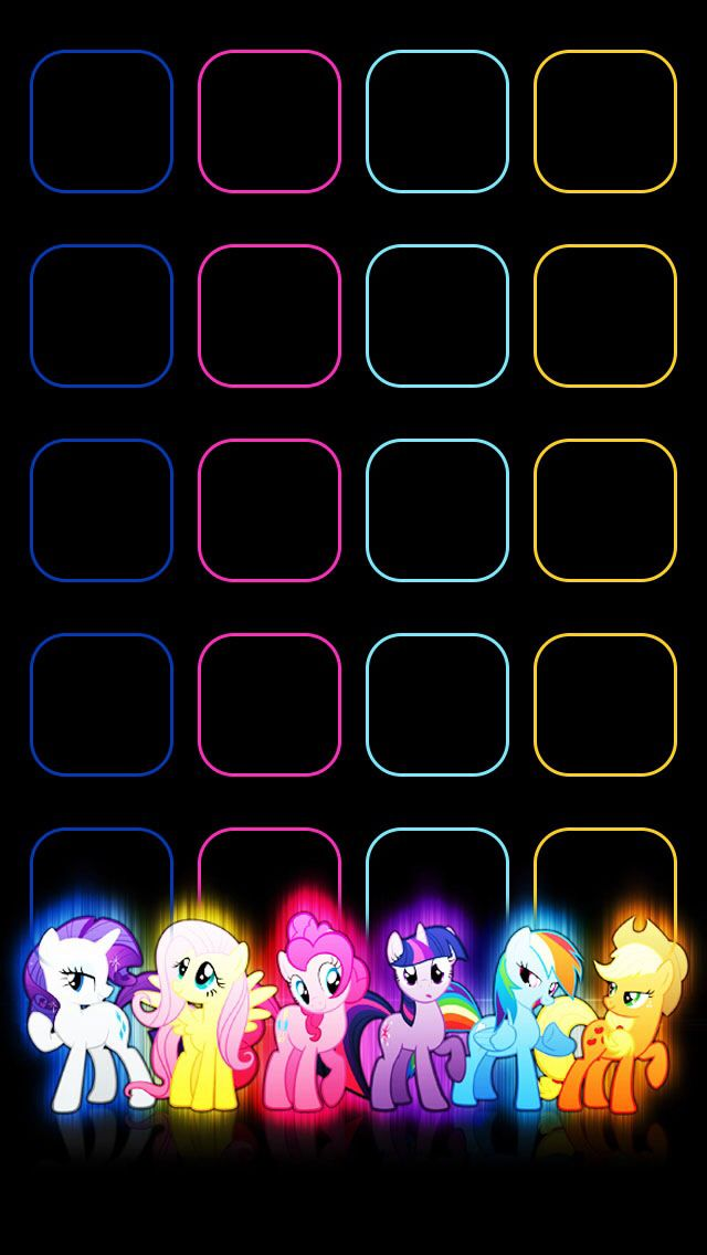 Pin By Nikita Kohls On My Little Pony My Little Pony Wallpaper Unicorn Wallpaper Iphone Glass
