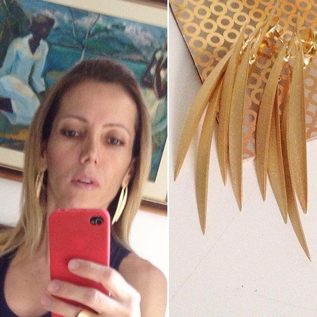 Desejo antigo ! #earings  #tempero #jewelry #brasilia