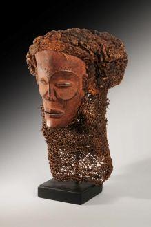 A Tchokwe Mask, Angola, circa 1900