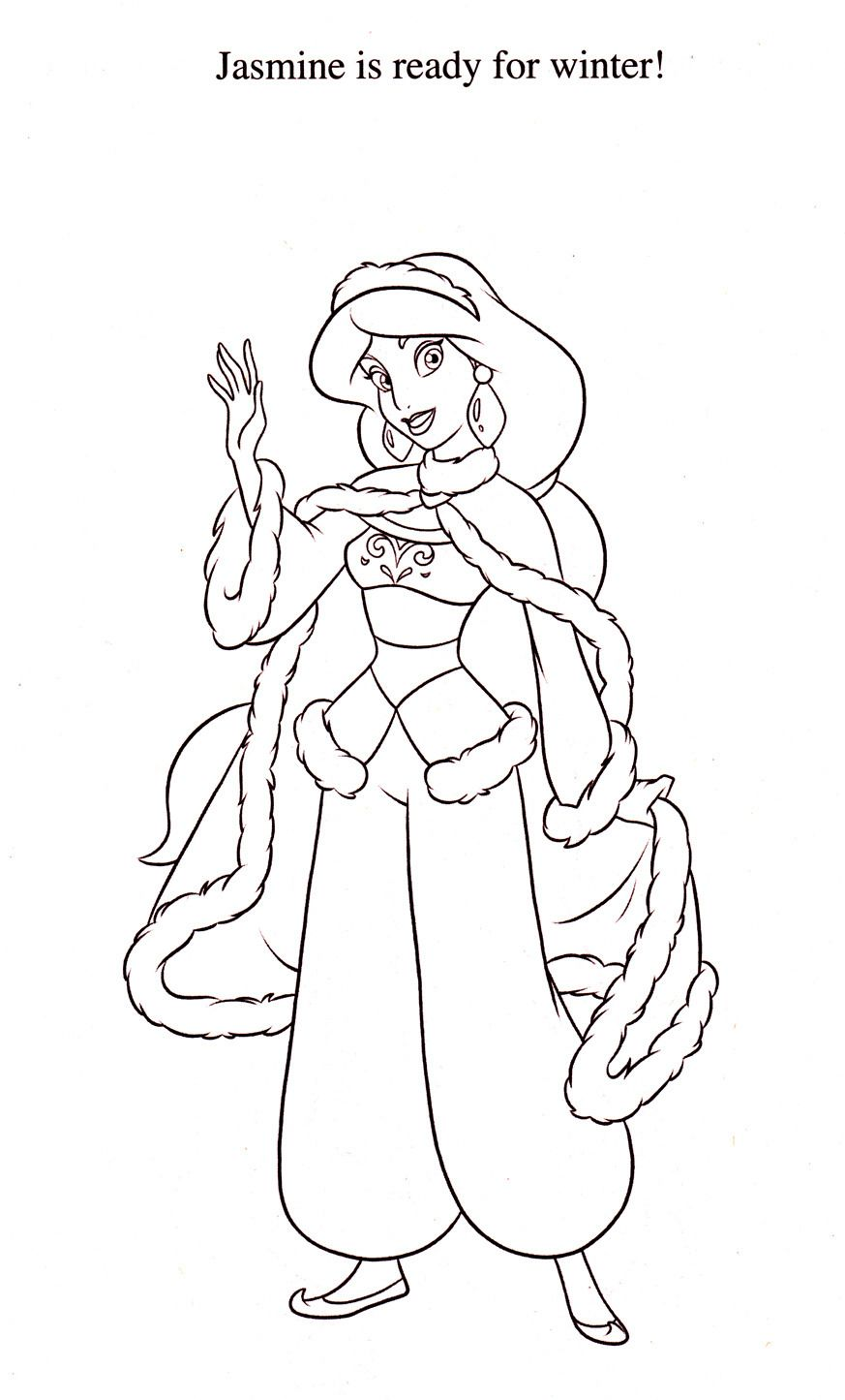 Disney Coloring Pages Search Results For Jasmine Boyama