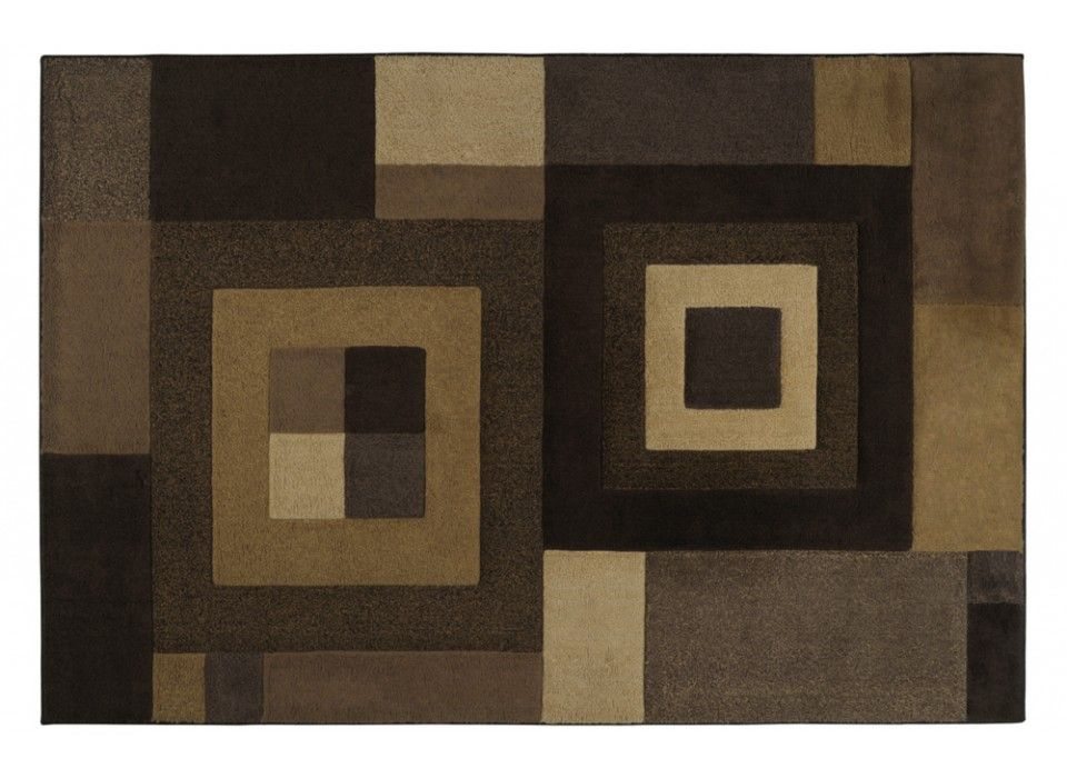 Square Tones Rug 53 x 76 Area Rugs Home Accents Bobs