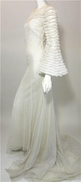 stunning 1930's Wedding Dress -