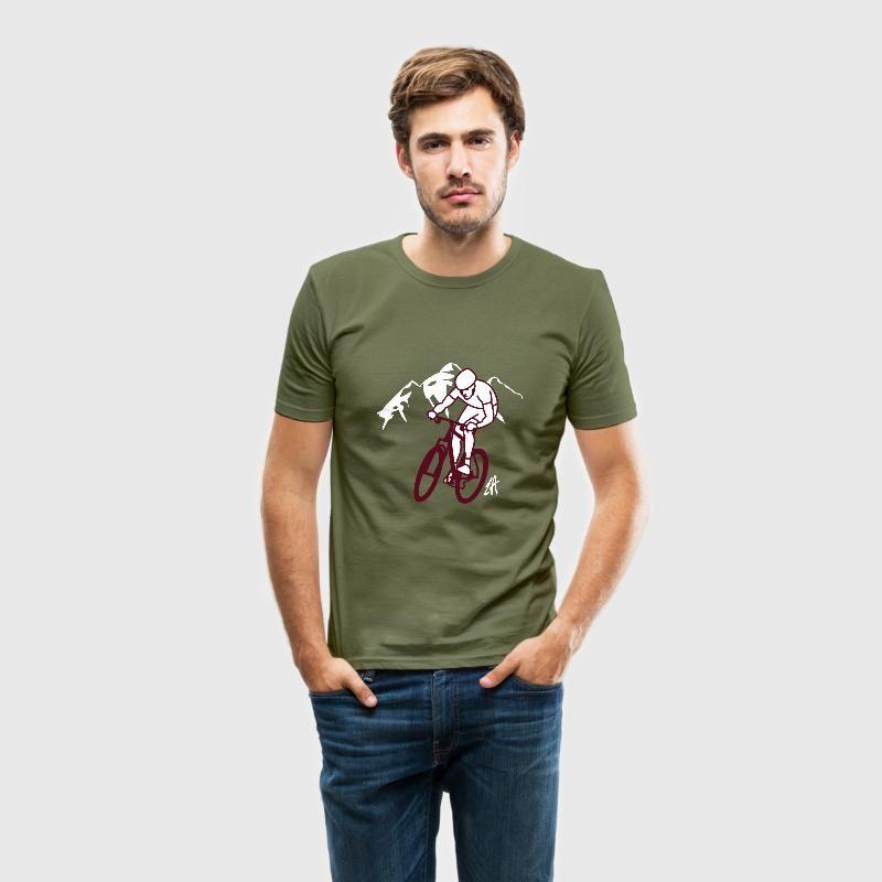 MTB T-shirt.  #MTB #Mountainbike #ATB #VTT #Tshirt #Spreadshirt #Cardvibes #Tekenaartje #SOLD
