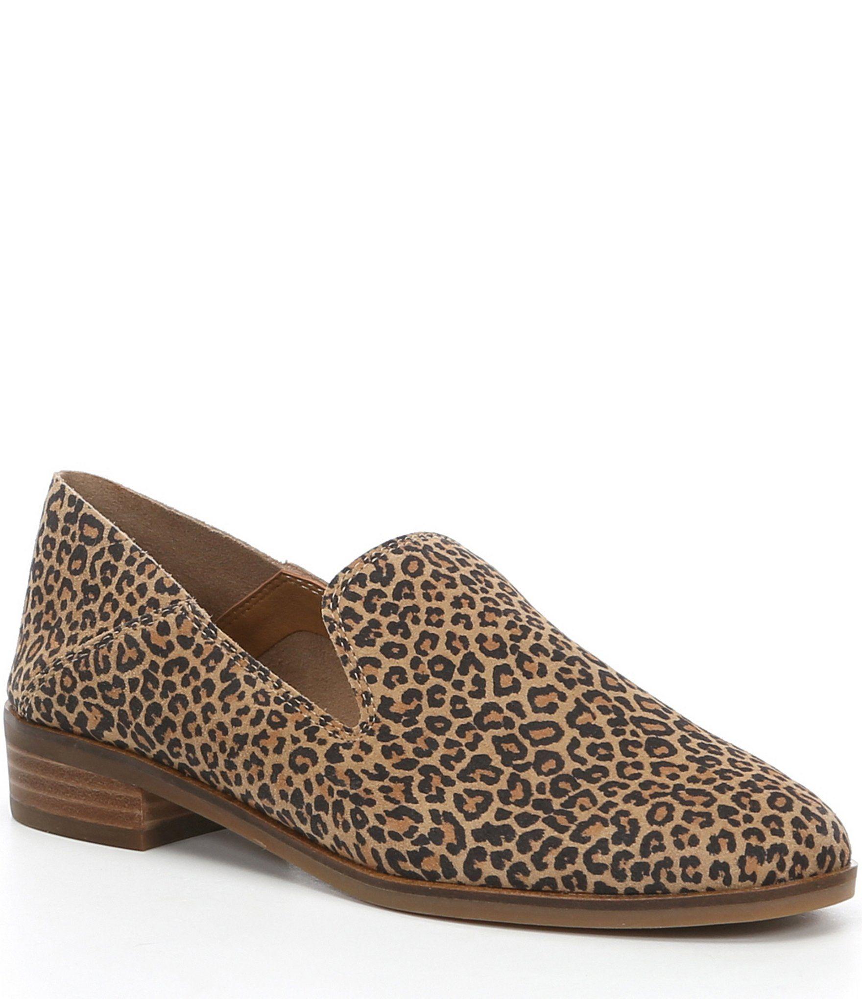 Lucky Brand Cahill Leopard Print Block